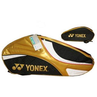 Yonex Racket Bag (6-er)black/gold